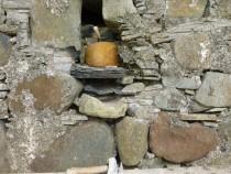 Original stone and slate drain