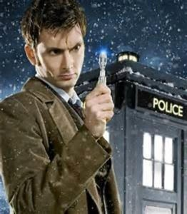 David Tennant as the 10th Dr Who