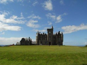 Glengorm Castle. Courtesy Dr Sue Reed
