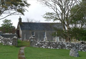 Kilninian Church Courtesy of Dr Sue Reed