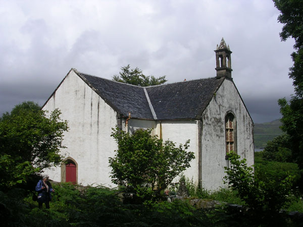Church from the south east