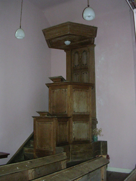 Early pulpit